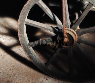 Holzwagenrad