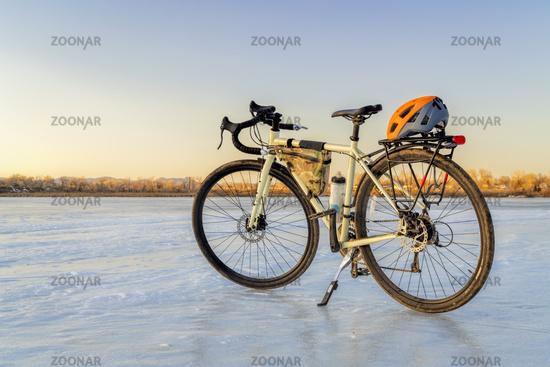 winter biking, touring or commuting