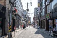 Gangneung daehakro street