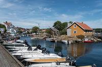Hafen von Stavern, Norwegen
