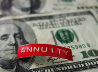 Annuity investing concept