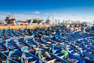 Essaouira - Magador port, Marrakech, Morocco.