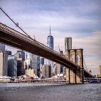 lower manhattan new york city panorama