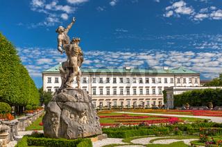 Park von Schloss Mirabell, Salzburg, Oesterreich