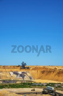 Tagebau hochkant