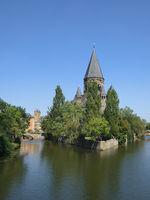 Metz - Temple Neuf, Frankreich