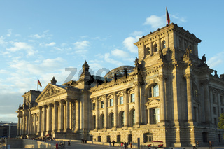 The Reichstag in the afternoon