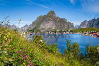 Reine on Lofoten islands in Norway