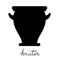 krater silhouette