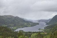 Ausblick auf den Arvagsfjord