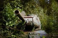 Rostiger Panzer