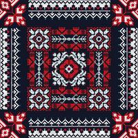 Romanian traditional pattern 208