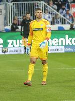 deutscher Fussball-Torwart Johannes Brinkies von FSV Zwickau DFB 3.Liga Saison 2019-20