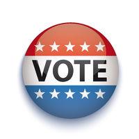 Vote USA Button