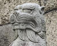 Japanese Mythological Animal Sculpture, Tokyo Japan
