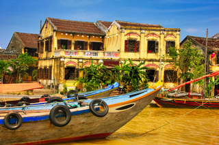 City of Hoi An in Vietnam, Asia