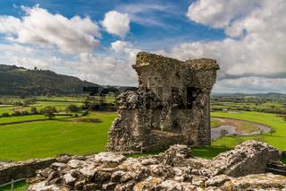 Dryslwyn Castle, Carmarthenshire, Dyfed, Wales, UK