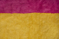 purple and gold abstract landscape - colorful textured paper sheets