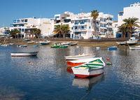 Marina of Arrecife, Lanzarote, Spain