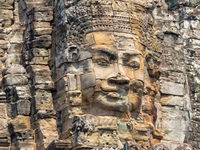 One of many faces - Siem Reap