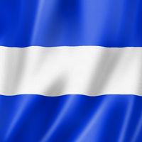 Juliet international maritime signal flag