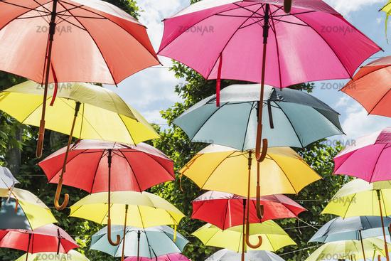 Bunte Schirme | Colorful umbrellas