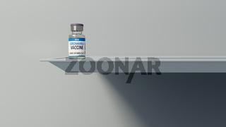 Corona vaccine dose background