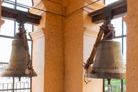Cordoba Argentina bells in the cathedral tower
