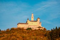 Travel in Germany - river cruises in Rhein river, beautiful medieval town and wine fields