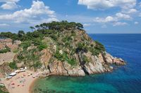 Tossa de Mar,Costa Brava,Catalonia,mediterranean Sea,Spain