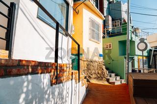 Huinnyeoul Culture Village colorful houses in Busan, Korea