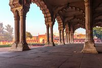 Diwan-i-Aam, Hall of Public Audience in Agra Fort, India