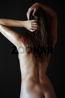 weiblicher Rücken