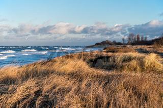 Blick auf die Ostseeküste