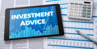 A tablet with financial documents - Investment Advice