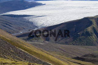 Gletscherzunge des Langjökull
