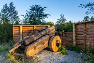 Kanonenplatz bei Stiege im Harz