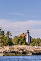 Lighthouse in Oxolosund Sweden