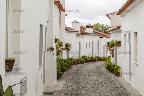 Maurisches Viertel in Moura, Alentjeo, Portugal, moorish district in Moura, Alentejo, Portugal
