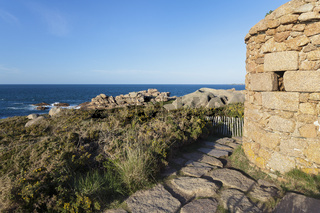 Cote de Granit Rose - View from the tower