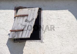 Fensterladen defekt
