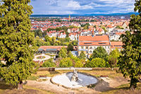 Bamberg. Panoramic view of Bamberg landscape and architecture, Upper Franconia