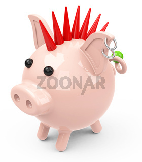 the piggy bank punk