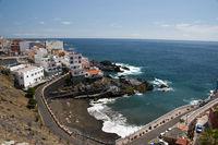 Playa Chica in Puerto de Santiago, Los Gigantes, Teneriffa, Kanarische Inseln, Spanien, Europa