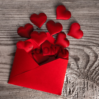 Valentine day love letter