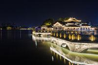 jiujiang night scene