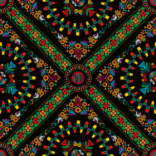 Hungarian embroidery pattern 24