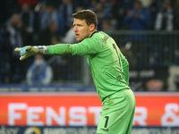 deutscher Fussball-Torwart Rene Vollath  Türkgücü München DFB 3.Liga Saison 2020-21