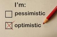 Optimistic or Pessimistic check box survey