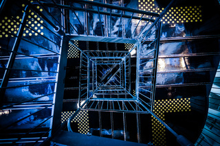 Spiral staircase of image